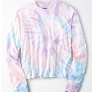 New AE Tailgate St. Louis Cardinals Tie-Dye Shirt